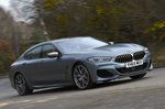 BMW 8 Series Gran Coupé 2020 RHD wide front tracking