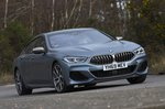 BMW 8 Series Gran Coupe 2020 RHD front tracking
