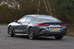 BMW 8 Series Gran Coupé 2020 RHD wide rear tracking