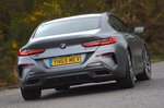 BMW 8 Series Gran Coupé 2020 RHD rear tracking