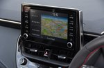 Toyota Corolla GR 2020 RHD infotainment
