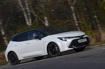 Toyota Corolla GR 2020 RHD right wide front tracking
