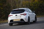 Toyota Corolla GR 2020 rear tracking