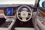 Volvo S90 2018 RHD dashboard