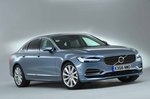 Volvo S90 2018 RHD front right quarter studio