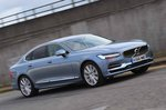 Volvo S90 2018 RHD front wide tracking