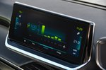 Peugeot e-208 2020 RHD infotainment
