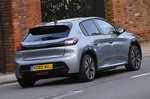Peugeot e-208 2020 RHD rear right tracking