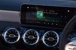 Mercedes CLA 2020 RHD infotainment