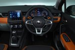 Renault Captur 2020 RHD dashboard