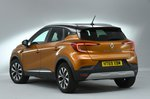 Renault Captur 2020 RHD right rear studio static