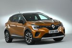 Renault Captur 2020 RHD front right studio static