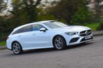 Mercedes CLA 2020 RHD wide right tracking