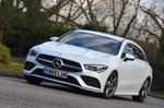 Mercedes CLA 2020 RHD front tracking