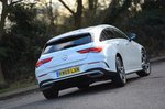 Mercedes CLA 2020 RHD rear tracking