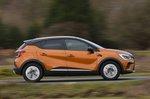 Renault Captur 2020 RHD wide right panning