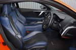 Honda NSX 2020 RHD front seats