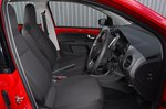 Skoda Citigo e iV 2020 RHD front seats