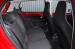 Skoda Citigo e iV 2020 RHD rear seats