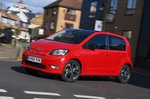 Skoda Citigo e iV 2020 RHD wide front left tracking