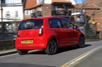 Skoda Citigo e iV 2020 RHD wide rear tracking