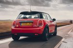 Mini Electric 2020 RHD rear tracking