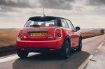 Mini Electric 2020 RHD rear tracking