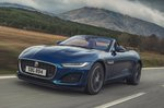 Jaguar F-Type Convertible 2020 LHD press front tracking