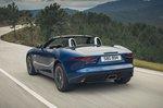 Jaguar F-Type Convertible 2020 LHD rear tracking