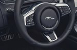 Jaguar F-Type Convertible 2020 LHD steering wheel detail