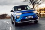 Kia Soul EV 2020 RHD front tracking 2