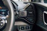 Kia Soul EV 2020 RHD front seats detail