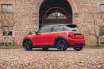 Mini Electric 2020 RHD left rear static