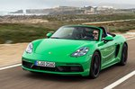 Porsche Boxster 2020 LHD front tracking