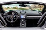 Porsche Boxster 2020 LHD dashboard