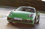 Porsche Cayman 2020 LHD front tracking