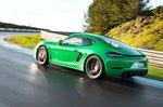 Porsche Cayman 2020 LHD rear wide tracking