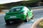 Porsche Cayman 2020 LHD rear tracking