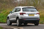 Skoda Karoq 2021 left rear tracking