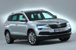 Skoda Karoq 2020 RHD front right exterior studio