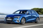 2020 Audi A3 front