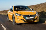 Peugeot 208 2020 RHD front tracking