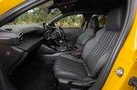 Peugeot 208 2020 RHD front seats