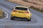 Mercedes A45 AMG 2020 RHD rear tracking