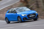 Audi A1 2020 RHD wide front tracking