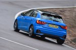 Audi A1 2020 RHD rear tracking
