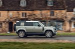 Land Rover Defender 2020 RHD right urban panning