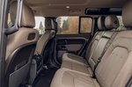 Land Rover Defender 2020 RHD rear seats