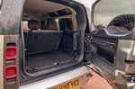 Land Rover Defender 2020 RHD tailgate open