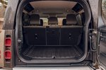 Land Rover Defender 2020 RHD boot open